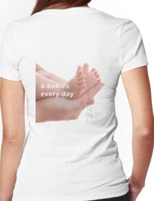 Still Aware '6 Babies' Womens Fitted T-Shirt