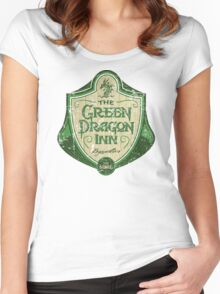 The Green Dragon Inn Women's Fitted Scoop T-Shirt