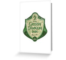 The Green Dragon Inn Greeting Card
