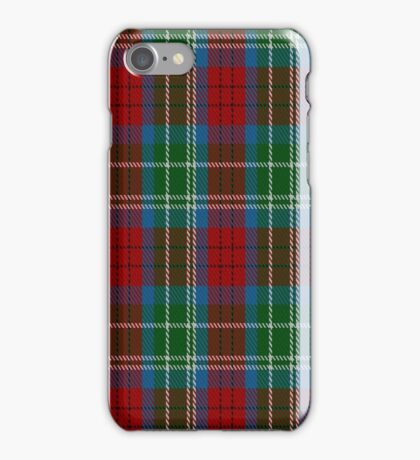 01466 Teirney Fashion Tartan  iPhone Case/Skin