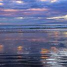 Orepuki Sunset by Harry Oldmeadow