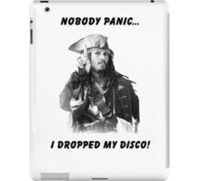 Jack Sparrow - Panic At The Disco Tee iPad Case/Skin
