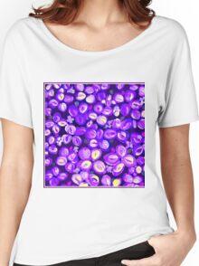 """ART DECO FLOWER"" Decorative Poster Print Women's Relaxed Fit T-Shirt"