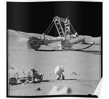 Moon Mining Poster