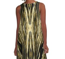 Pulsation Raw A-Line Dress