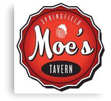 Moe's Tavern Canvas Print