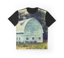 Aqua Barn Graphic T-Shirt
