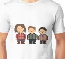 Sam, Dean and Castiel Winchester Inspired By Undetale - Supernatural Unisex T-Shirt
