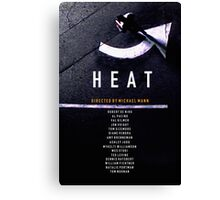 HEAT 2 Canvas Print