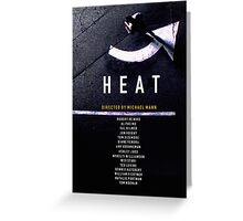 HEAT 2 Greeting Card