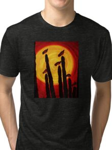 Evening Sun Tri-blend T-Shirt