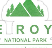 Isle Royale National Park, Michigan Sticker