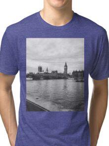 London Grayscale  Tri-blend T-Shirt