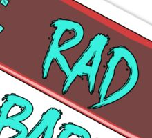 RAD BABE Sticker