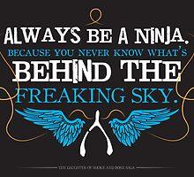 Always Be A Ninja by Lindsey Davies