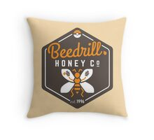 Beedrill Honey Company Throw Pillow