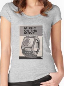 Music Watch Women's Fitted Scoop T-Shirt