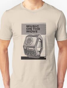 Music Watch Unisex T-Shirt