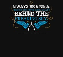 Always Be A Ninja Womens Fitted T-Shirt