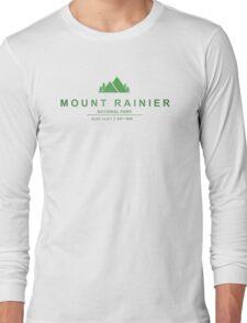 Mount Rainier National Park, Washington Long Sleeve T-Shirt
