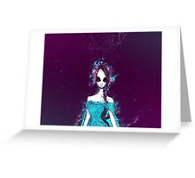 Ice Alien Greeting Card
