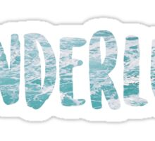 Wanderlust - Water Sticker