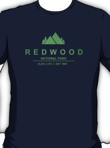 Red Wood National Park, California T-Shirt