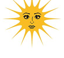 Sun Woman Gilr Lovely Pretty Face by Style-O-Mat