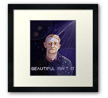 Beautiful Isn't It Framed Print