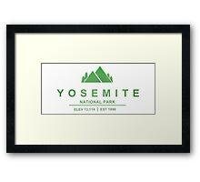 Yosemite National Park, California Framed Print