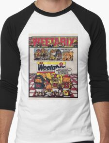Weetabix advert 2 Men's Baseball ¾ T-Shirt