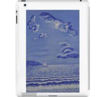 005 Sail Boat iPad Case/Skin