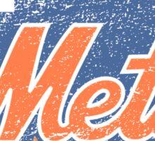 Mets (gray) Sticker