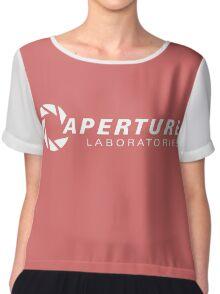 aperture laboratories logo  Chiffon Top