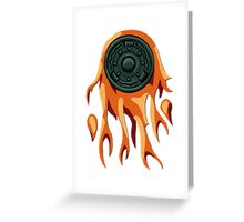 Celestial Weapon Greeting Card