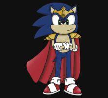 King Sonic the Hedgehog Baby Tee