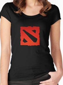dota 2 logo Women's Fitted Scoop T-Shirt
