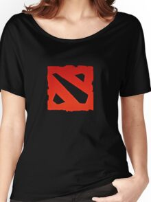 dota 2 logo Women's Relaxed Fit T-Shirt