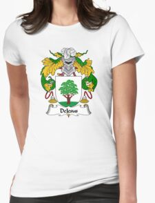 DeJesus Coat of Arms/Family Crest Womens Fitted T-Shirt