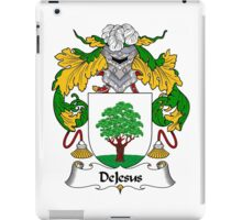 DeJesus Coat of Arms/Family Crest iPad Case/Skin