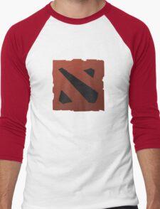 dota 2 logo Men's Baseball ¾ T-Shirt