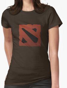 dota 2 logo Womens Fitted T-Shirt