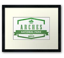 Arches National Park, Utah Framed Print