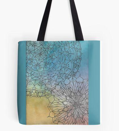 Mandalove Watercolor Vector Tote Bag