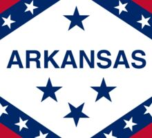 Flag of Arkansas  Sticker