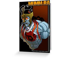 Mumm-Ra Greeting Card