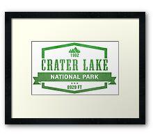 Crater Lake National Park, Oregon Framed Print