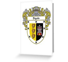 Digalo Coat of Arms/Family Crest Greeting Card