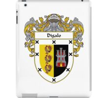 Digalo Coat of Arms/Family Crest iPad Case/Skin