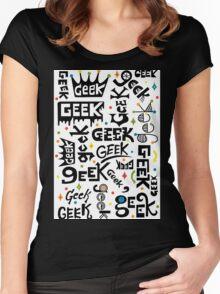 Geek Words Women's Fitted Scoop T-Shirt